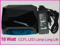 Wholesale Shellac Nail Gel Lamp Black Color Diamond AU PLUG V W Shellac Nail UV LED Nail Lamp With CE and ROHS w LED w CCFL