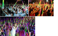 Wholesale Brand new Low price Telescopic LED Glow Sticks Flashing LED Toys fluorescent Sword concert Christmas Carnival Toys