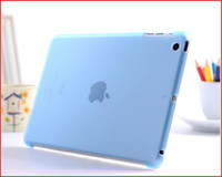 al por mayor ipad cubierta elegante dhl-Caso FEDEX DHL Freeship Crystle trasera dura protectora Trabajar Con Smart Cover manga Shell para pc007 iPad Mini Multi-Color