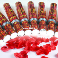 Wholesale Married overstretches fireworks tube ceremonized confetti cm torch full petals salyut