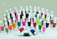 Wholesale whosale color way nail art polish with brush amp pen varnish