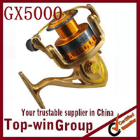Wholesale GX5000 BB aluminum spinning fishing reels ice fishing reel quality better Garcia spinning reels daiwa fishing