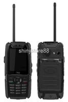 PPT teléfono celular real impermeable a prueba de polvo a prueba de golpes al aire libre Teléfono móvil con función PTT Walkie Talkie