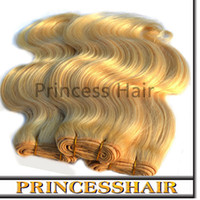 Body Wave Brazilian Hair machine Free Shipping 6A 613 Color Ombre Hair Extension, Brazilian Body Wave