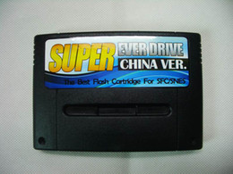 Wholesale Super Everdrive SFC SNES Game flash cartridge china ver
