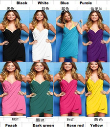 Wholesale Hot Sale Open Back Wrap Swimsuit Bikini Wrap Dress Cover Up Beach Swimwear Sexy Womens Bikini Size S M L XL