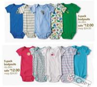 Boy Summer 100% Cotton Newest Retail Baby Short Sleeve Bodysuits 1PCS Baby Clothing Infant Romper Babywear Toddler Shortalls Cheapest