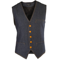 Wholesale New Arrival Fashion Men Coat Spring Autumn Britain Denim Vest Casual Suits Vest Men Clothing Size M XL