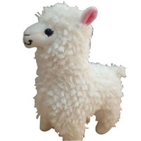 Wholesale 2014 fashion lovely pretty inch white Arpakasso plush doll toy
