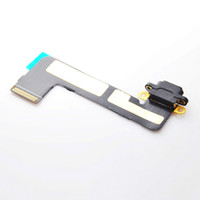 Wholesale HOT Original new For Apple ipad mini Charger Connector flex cable ribbon black white color USB Charging Port ipadmini Replacement Parts