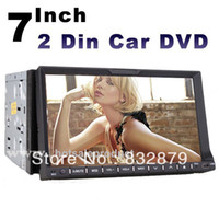 Wholesale universal two Din quot Car DVD player GPS optional audio Radio stereo FM USB SD Bluetooth TV digital touch screen IN Dash