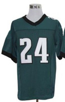 eagles football jerseys - Eagles Jerseys Nnamdi Asomugha Green American Football Jerseys Elite embroidered logo size