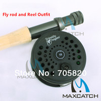 Carbon fly reel and rod - Super price Starter m Fly rod and Reel Outfit Fishing rod and reel combos by Express