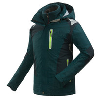 Wholesale 2014 New Arrive Lovers Outdoor in1 Ski Jacket Windbreaker Waterproof amp Breathable Jacket Coat Pizex