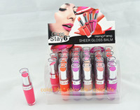beautiful stay - Brand New high quality lipstick sheer gloss blam stay hours with beautiful display box in colors make up