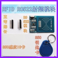 Wholesale RFID RC522 module Kits S50 Mhz kbit s Write Read for arduino uno