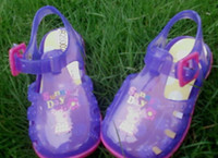 Wholesale new arrival baby PEPPA PIG summer girls cartoon sandals shoes pairs