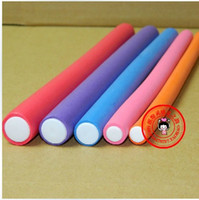 Wholesale 5size cm cm cm cm cm Hairdressing tool curlers rubber curling iron cold perm hair thick stick