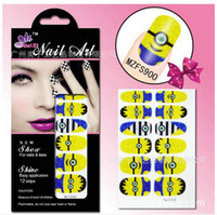 Wholesale Drop Shipping Popular Cartoon Nail Polish Sticker Decal Despicable Me Can Mix Order