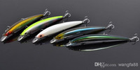 Wholesale New arrival color cm g bigger fishing lures plastic fishing lures fishing bait hooks china post free s