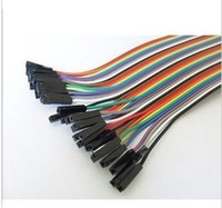 Wholesale 5pcs cm P DuPont Line P P Female to Male DuPont Line Wire Cable for Arduino FZ0261 Dropshipping