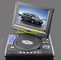 Wholesale 7 quot or quot PORTABLE EVD DVD PLAYER TV USB SD GAMES RADIO LCD SCREEN