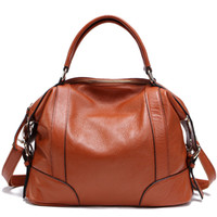 Wholesale 2013 Fashion first class of cowhide women s handbag brand design genuine leather bag summer style dual function popular tote