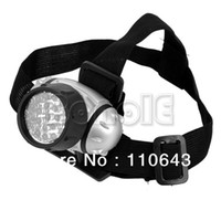 LED Headlamp T6 Strobe Promoitons! Waterproof 21 Led Head Lamp Light Torch Headlight Free shipping TK0400