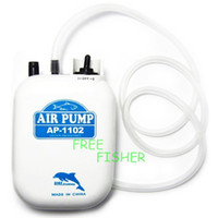 B42 China (Mainland) portable electric Air Pump inflator Fishing Aerattor Dc 2 Speed New Air Pump Bait Live Portable B42