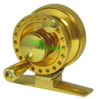 Wholesale New Golden Alloy Casting Fly Fishing Reel R01