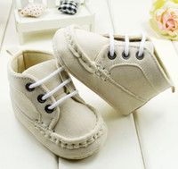 Wholesale M white baby shoes Lace soft bottom baby shoes Cheap warm toddler shoes china Walking Shoes baby wear pair CL