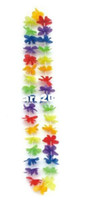 Wholesale Party Supplies Hawaiian Flower Lei Garland Wreath Cheerleading Products Necklace Drop Shipping HH0009