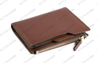 Wholesale New Quality Originality Cowhide Card Bag Purse Comfort Coffee S2013F MYY8292
