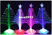 Wholesale cm Christmas tree new year gift fiber optic light festival decoration light