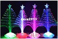 Wholesale cm Christmas tree new year gift fiber optic light festival decoration light