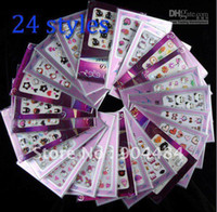 3D acrylic flowers for nails - Lovely Image Beautiful Desgin Different Luminous D Nail Art Stickers Acrylic Tips For Nails Deco