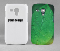 Cheap for samsung galaxy S3 mini i8190 3D blank sublimation case, heat transfer case Full area are printable free shipping DHL or Fedex