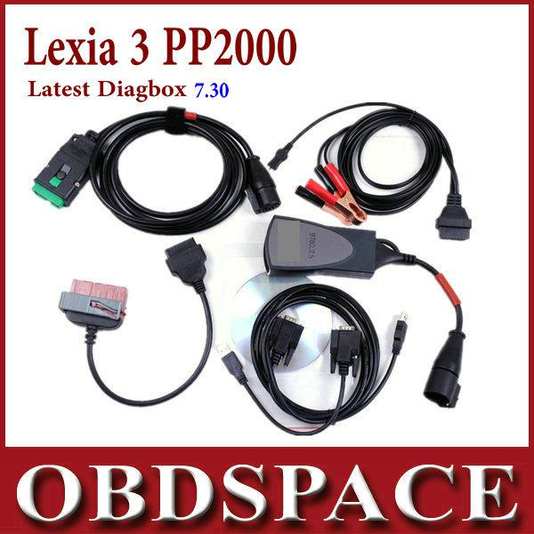 acheter lexia 3 citroen peugeot pp2000 outil de diagnostic diagbox 7 62 de du obdspace. Black Bedroom Furniture Sets. Home Design Ideas