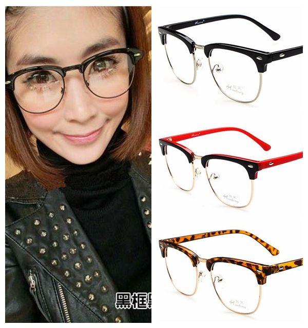 2017 fashion 2014 latest women designer eyeglasses lady half frame rivets eyewear from boysgirls 5305 dhgatecom