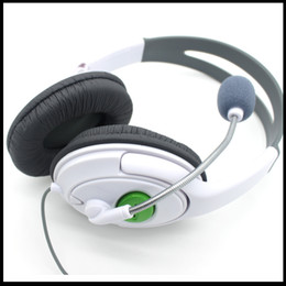 Wholesale Headset For Xbox360 Earphone For XBOX Live Video Game Accessories Super Quality