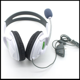 Wholesale Brand New Headset Earphone With Microphone For XBOX XBOX360 Live