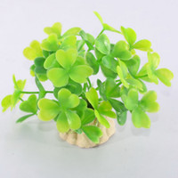 Wholesale Fish tank aquarium fish tank decorations decorative landscaping plants simulation package plastic grass A5