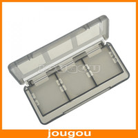 Wholesale Portable In Mini Plastic Game Card Holder Hard Case Storage Boxes For Nintendo DS lite NDSL NDSi