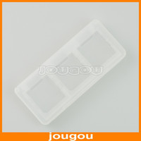 Wholesale Brand New In DS Game Card Cartridge Storage Box Case For DS NDS DSL Lite DSi Game Card Holder Free DHL FEDEX