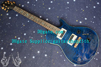 Wholesale New arrival Custom Shop th Reed Smith Electric Guitar In Blue Wave Excellent Quality Guitars Musical Instruments
