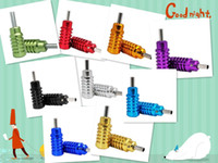 Tattoo Grip alloy aluminium grip - Top Aluminium Alloy Tattoo Grip mm Colors for Choose Tattooing body Art Supply