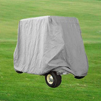 Wholesale Water Proof Passenger Golf Cart Cover Electric Gas Golf Cars Buggy Enclosure Storage DGF2S