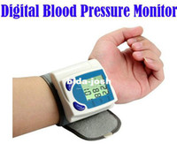 Wholesale Digital LCD Wrist Cuff Blood Pressure Monitor Heart Beat Rate Pulse Meter Tester amp Drop Shipping