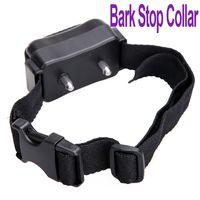 Wholesale New Automatic Anti No Bark Dog Pet Training Shock Ultrasonic Control Collar FreeShipping