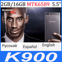 4.2 Android 2G Lenovo K900 Intel Atom Z2580 2048Mhz 2G RAM+16GROM Android 4.1+miuiv5 5.5''IPS screen 13MP support multi language google play